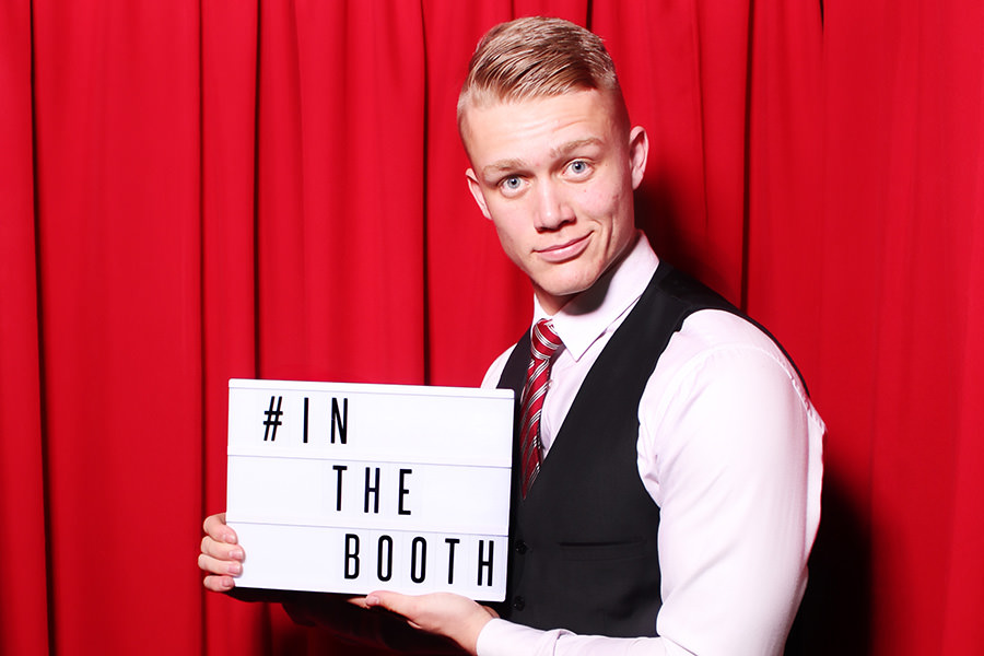 Uniformed photo booth attendants ensure your event runs smoothly.