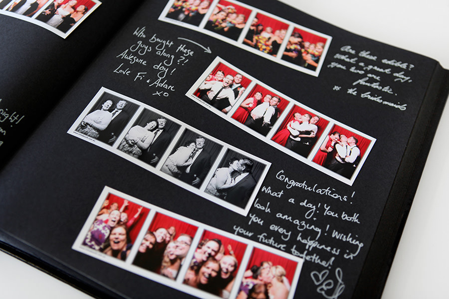 Studio quality guest books are included with all private events.